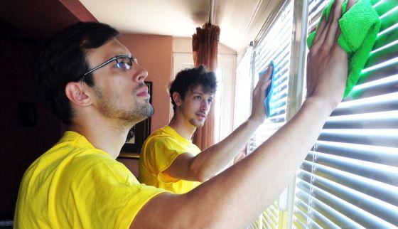 измиване на прозорци и дограми